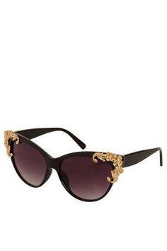 Baroque Cateye Sunglasses