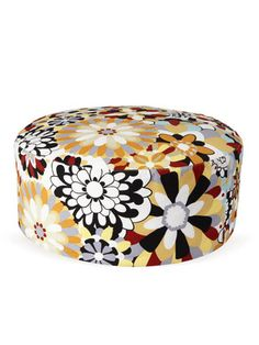 Jenkins Pouf by Missoni Home on Gilt Home. Great Kids room accessory.