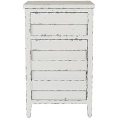 Perhaps breakfast at Tiffany's wasn't meant to be, but the soft, feminine white finish on pinewood of the Audrey Lingerie Chest lends an air of feminine Hepburn charm to any room. Its clean lines give it a visual versatility that makes it just as charming storing stationary in a home office as it is storing delicate garments in the bedroom.