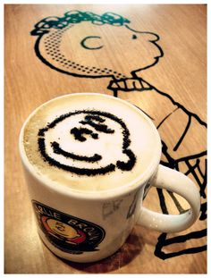 Charlie Brown Cafe at Straits Quay Penang there's one in Hong Kong too -- I need to visit this place !!