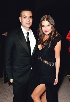 Mark salling and Lea Michele.  I still think they're gorgeous together..
