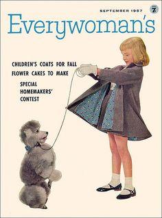 Everywoman's Cover, September 1957. Inside: Special Homemakers' Contest