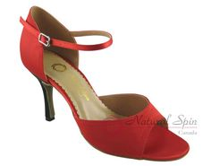 Natural Spin Tango Salsa Shoes/Tango Shoes/Fashion Shoes(Open Toe):  T1102-07a_R
