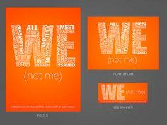 We Not Me - Sermon Series, via Flickr.