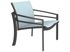 Tropitone Kor Relaxed Sling Aluminum Lounge Chair | 891511