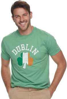 e379d58a0 SONOMA Goods for Life Men's SONOMA Goods for LifeTM Lucky Dublin St. Patrick's  Day Tee