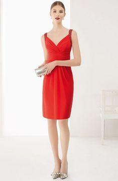 913c769ce3eb Satin V Neck Cap Sleeve Sheath Knee Length Lace Prom Dress Shown In Blue