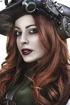 Steampunk Girls | Steampunk girl | Steampunk