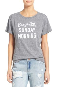 Sunday Morning Tee