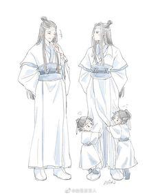 Cute Anime Pics, Cute Anime Couples, Chinese Cartoon, Ghost Cat, The Grandmaster, Cute Chibi, Shounen Ai, Light Novel, Cute Love