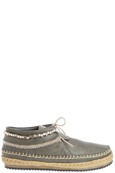 Saqui Embellished Leather Moccasin | Calypso St. Barth