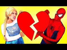 Are Frozen Elsa & Spiderman Together? w/ Maleficent Joker Hulk Spidergirl Anna Toys! Superheroes IRL in Real Life by Webs & Tiaras :) Watch more of our Spid. Elsa Halloween, Halloween Pranks, Halloween Skeletons, Princess Anna, Disney Princess, Spiderman And Frozen, Spirit Shirts, Elsa Frozen, Maleficent