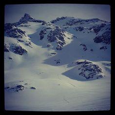 Arc'teryx athlete Thibaud Duchosal ski touring in Argentina