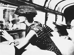The late Lillian Bassman's fashion photos have a spare, elegant look.