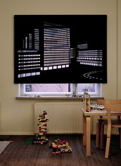 Skyline blinds...very clever.