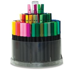 Art Marker Caddy, Set of 128: Great for kids and grown-ups alike, this unique three-tiered marker caddy spins easily for access to all 128 markers!