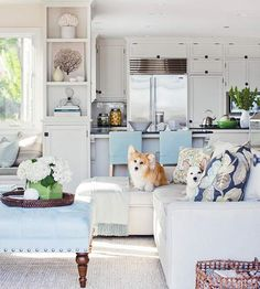 home design categories. chic coastal living room furniture and decoration. aweinspiring coastal living rooms to recreate carefree beach days Coastal Living Rooms, My Living Room, Home And Living, Living Room Decor, Living Spaces, Small Living, Dining Room, Coastal Bedrooms, Modern Living