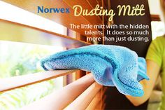 norwex dusting mitt review....This thing is AHHHMAAAZZIIIiiING!!!!! Email me for 25% off all orders anytime. No parties, just want to help people out! Jaimefausnaugh@ymail.com