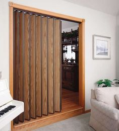 Add Privacy to a Tight Space with an Accordion Door