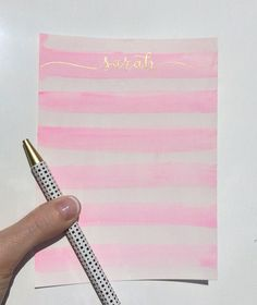 These are beautiful hand painted personal stationary. These are customizable! Let me know what you want calligraphed on the stationary in the