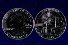 .25 2013 5oz Silver Fort McHenry National Monument