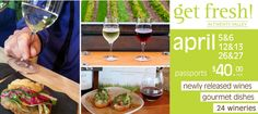 Win tickets to Get Fresh in the Valley - an Ontario Wine tour that pairs wines with food at 24 wineries. Win Tickets, Get Fresh, Giveaways, The Twenties, Wines, Parenting, Tours, Fruit, Breakfast