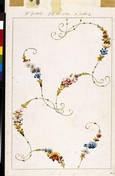 Anna Maria Garthwaite (1688 – 1763) , textile design, Spitalfields, England