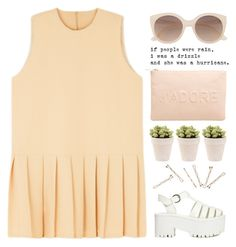 """orange is the new black ♡ (tag) ♡"" by alienbabs ❤ liked on Polyvore featuring Miss Selfridge, Y.R.U., Witchery, clean and organized"
