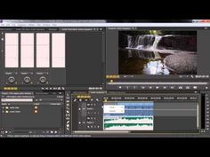 Adobe Premiere Pro CC Tutorial | Adjusting Audio Volume And Panning In The Timeline - YouTube