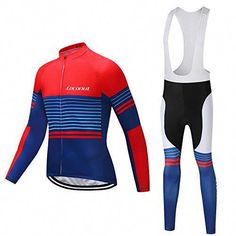 d65228849 The perfect Coconut Ropamo Men s Cycling Jersey Suit Long Sleeve Road Bike  Jersey Cycling Sets Tights