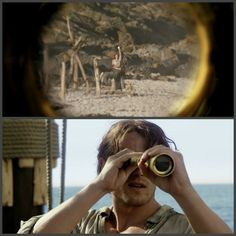 Jamie sees Claire on the beach - Outlander_Starz Season 3 Voyager - Episode 311 Uncharted - November 26th, 2017