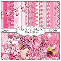 Digital Scrapbooking | New Lovely Kit & Digital Scrapbook Freebie