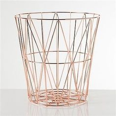 Decorative Plates and Bowls 36019: Torre And Tagus 902116B Diamond Weave Storage Basket Rose Gold Large No Tax -> BUY IT NOW ONLY: $60.24 on eBay!