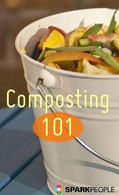 Composting 101 for the complete beginner #gardening http://www.zhounutrition.com/