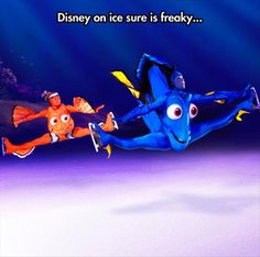 Funny pictures about Disney on ice is weird. Oh, and cool pics about Disney on ice is weird. Also, Disney on ice is weird. Disney On Ice, Disney Love, Disney And Dreamworks, Disney Pixar, Punk Disney, Disney Xd, Disney Facts, Disney Memes, Disney Animation