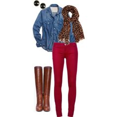 """fall day"" by sequindiva on Polyvore"