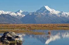 Explore Mount Cook from Christchurch 									Travel by road on a full day tour from Christchurch to Mount Cook, Australasia's highest mountain. Along the way you'll pass through the spectacular scenery of the Canterbury Plains, view MacKenzie Basin, Lakes Tekapo and Pukari and Tasman Glacier. Lunch at the Hermitage Hotel as well as morning and afternoon snacks are also included on your guided tour. 		 		 											A short stop at either the Tin Shed (an old shearing shed sel...