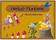 Es folgen nun die Herbstabschreibkarten Da von euch mehrmals gewünscht, kommen hier die Herbstabschreibkarten mit allerlei Sätzen zur Herb...