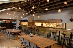 industrial style restaurant spaces - Google Search