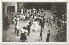 Italian folk dances - 1950