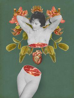 Креативные коллажи от Julia Geiser