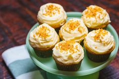 Recipe: Coquito Cupcakes with Toasted Coconut