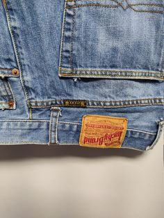 Vintage Jeans, Lucky Brand, Cotton, Pants, Etsy, Products, Fashion, Trouser Pants, Moda