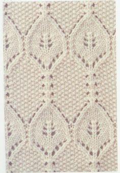 Lace Knitting Stitch #68