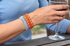 Thick Cord Macrame Bracelet Tutorial ~ The Beading Gem's Journal