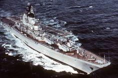 Novorossiysk - Kiev class Aircraft Carrier (Russia)