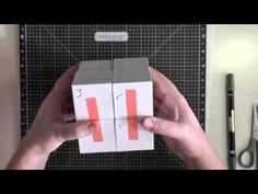 Magic Folding Cube Tutorial - YouTube