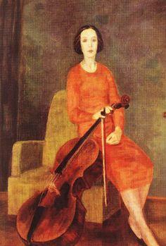 Róbert Berény (1887-1953), húngaro. Es un pintor vanguardista, uno de los introductores del expresionismo y el cubismo en su país. En parte de sus pinturas muestra características del fovismo.