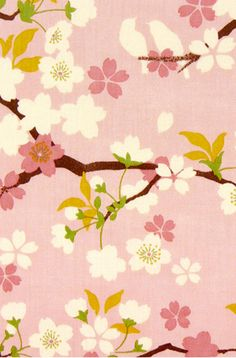 Cherry blossom Pink Sakura Flower Japanese Tenugui Fabric, Hand Dyed Fabric, Spring Floral Art Wall Hanging Tapestry, Home Decor, Japanese Patterns, Japanese Fabric, Japanese Prints, Japanese Design, Japanese Art, Japanese Geisha, Japanese Kimono, Art Floral, Floral Prints