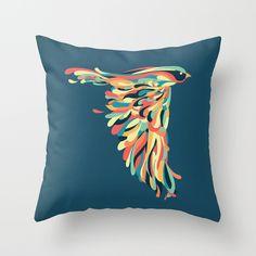 Downstroke by Jay Fleck #throwpillows #pillowswithart